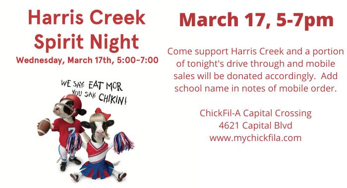 Harris Creek Elementary PTA