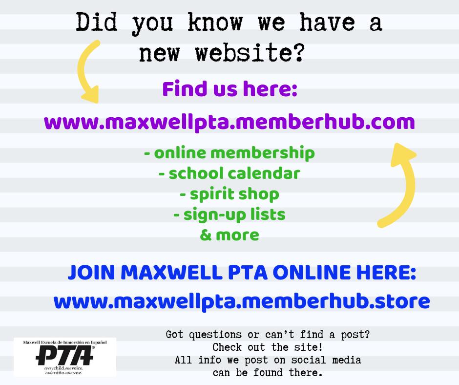 Maxwell Spanish Immersion Elementary PTA