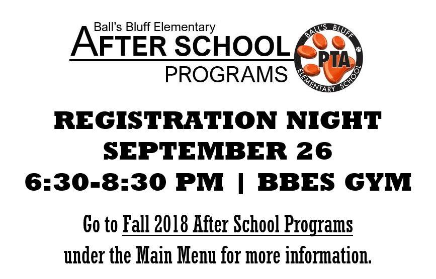 Ball's Bluff Elementary School PTA