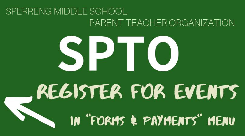 Sperreng Middle School PTO